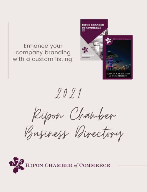 2021 Chamber Business Directory Advertising